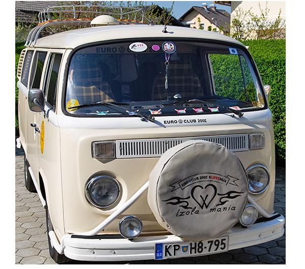 VW kombi T2 starodobnik