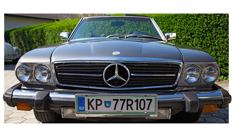 Mercedes Benz 450 SL starodobnik