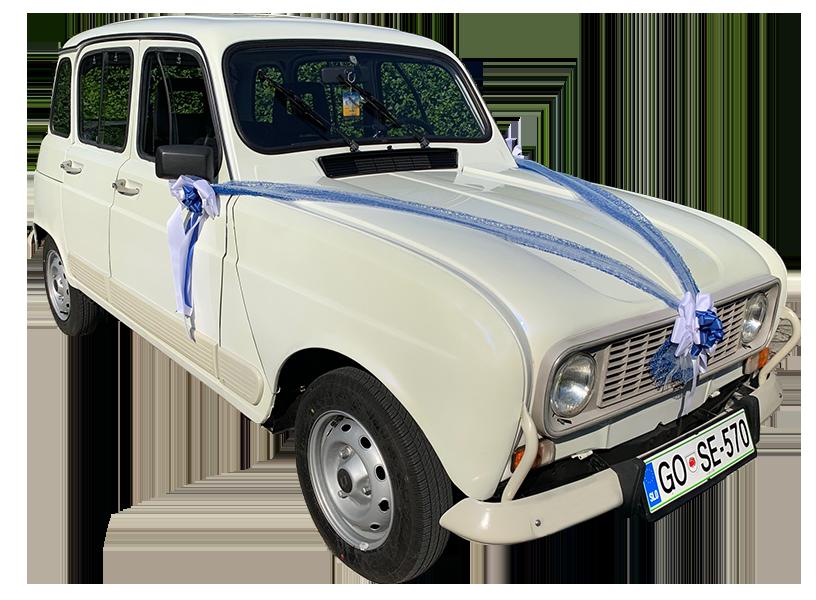 Katrca Renault 4 najem